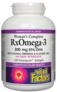 Woman's Complete Rx Omega-3 with Evening Primrose & Flaxseed Old