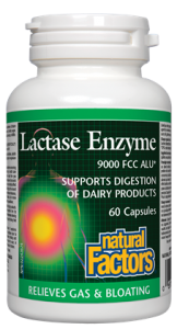 Enzyme Lactase 60 Capsules