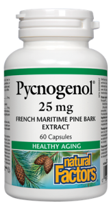 Pcycnogenol French Maritime Pine Bark Extract Healthy Aging