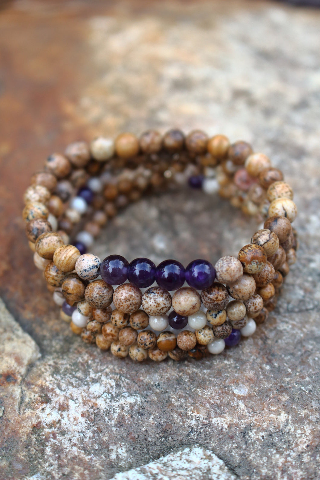 Sandy Beach Stack Bracelet
