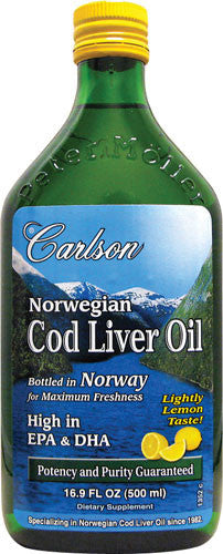 Cod Liver Oil  Lemon Taste  500 ml