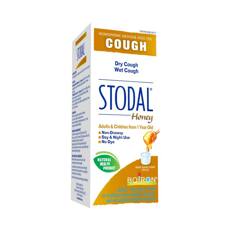 Stodal with Honey for Dry and Wet Cough 200 ml