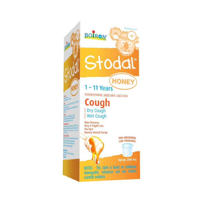 Stodal Cough for kids with Honey 125 ml