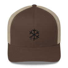 Melting Snowflake Trucker Cap