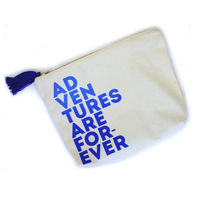 Adventures Are Forever Zipper Pouch