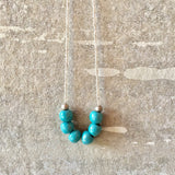 Clivia Turquoise Necklace *1 LEFT*