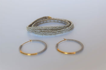 Sipolio Simple Extra Small Double Wrap Bracelet