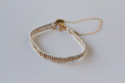 Warrior Extra Small Stripe Chain Bracelet