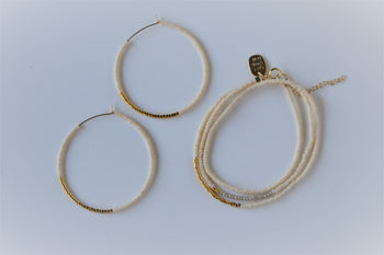Endito Large Hoop Earrings *1 LEFT*