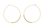 Endito Large Hoop Earrings