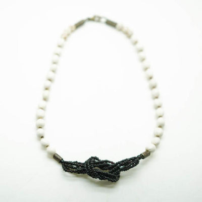 Scribble Knot Necklace
