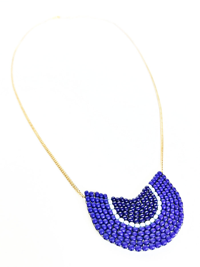 Nich Necklace- Indigo