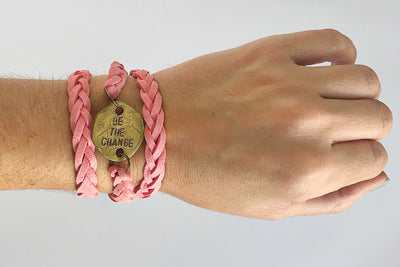 Be the Change Wrap Bracelet