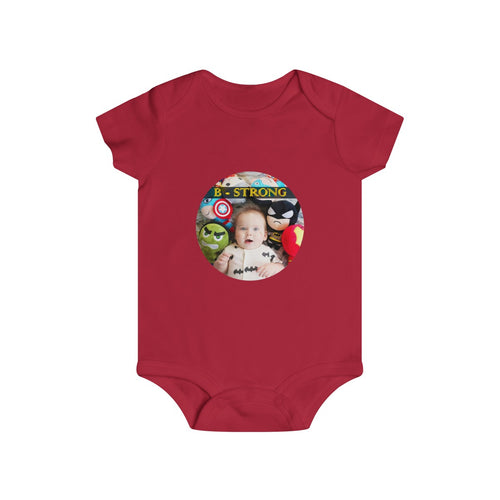B - STRONG - Infant Rip Snap Tee