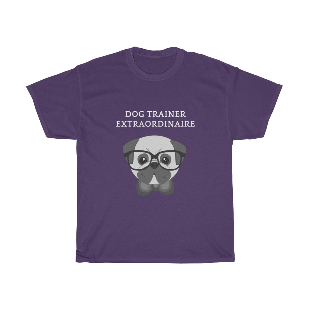 Dog Trainer Extraordinaire Unisex Heavy Cotton Tee