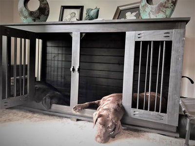 It's more than just a dog crate or kennel. It's is beautiful functional and affordable furniture to add to your home decor.