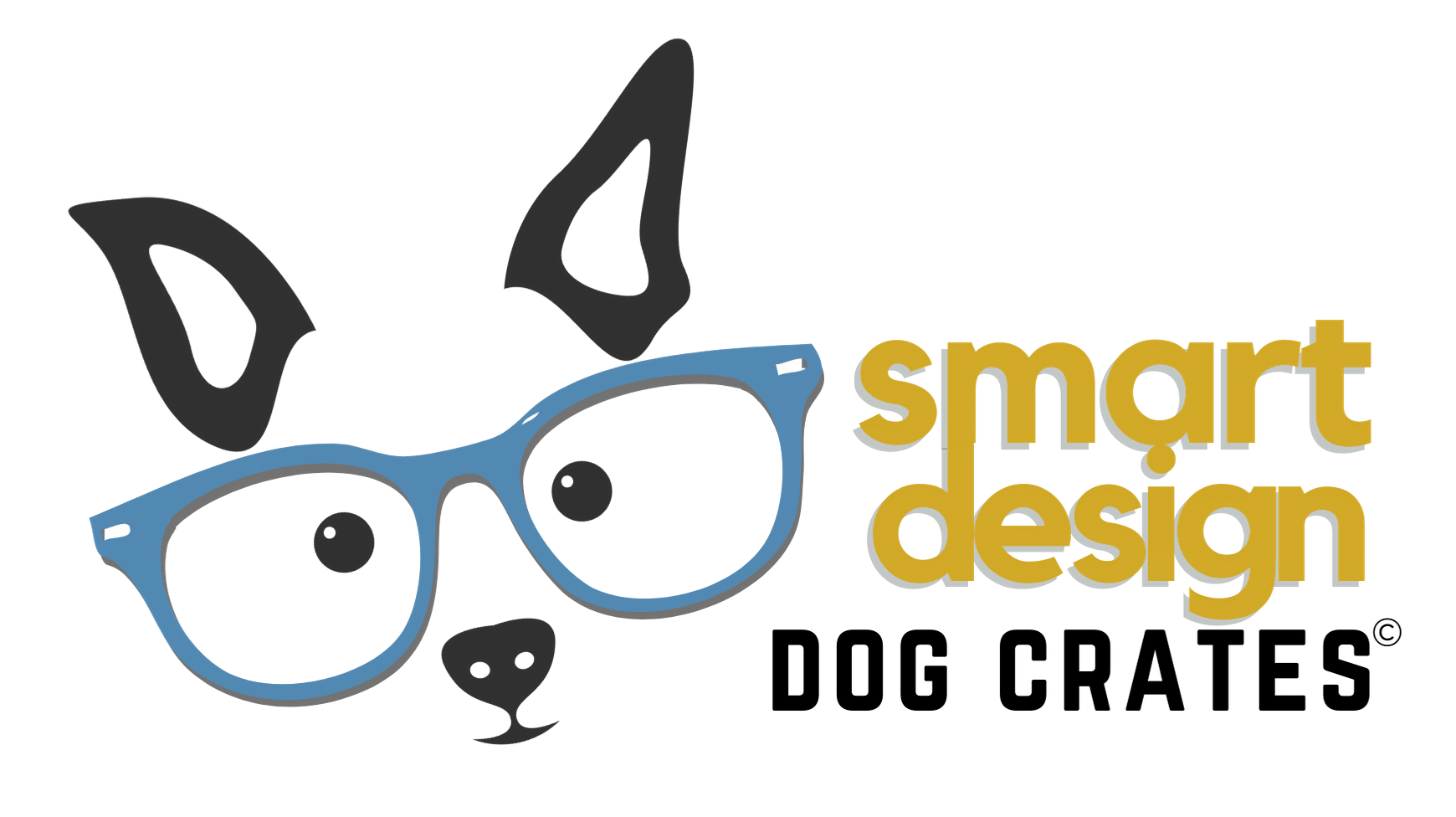 Smart Design Dog Crate furniture logo