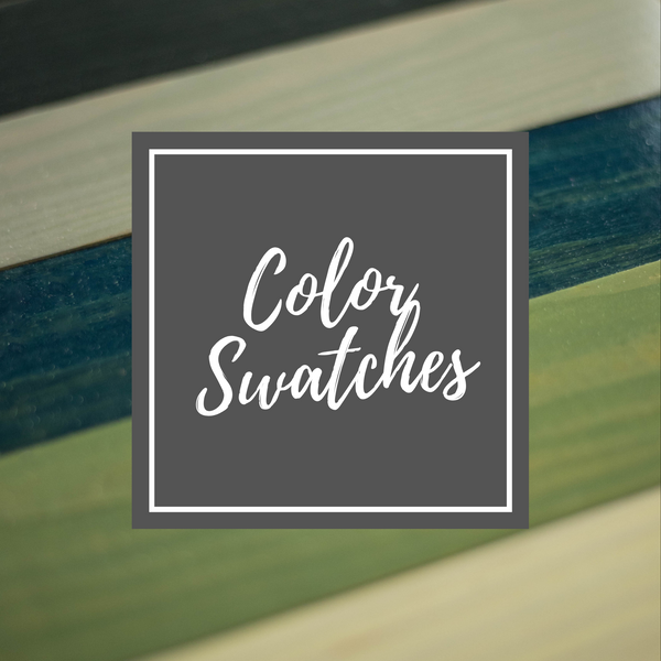 We make selecting the perfect colors for your dog furniture super easy with free color swatches