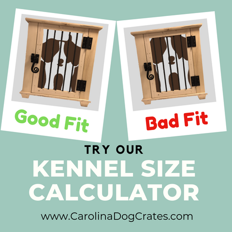 Try our Dog Crate Size Calculator