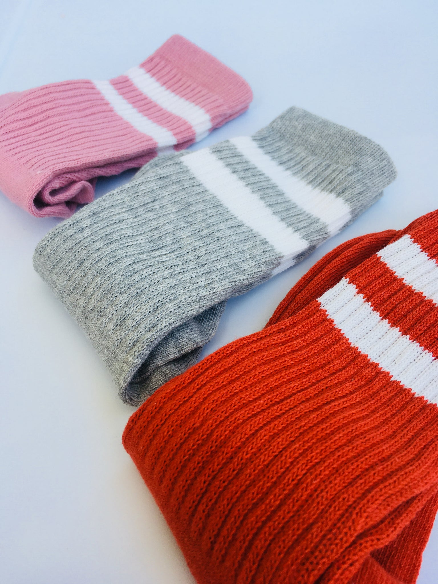 Autumn Striped Socks