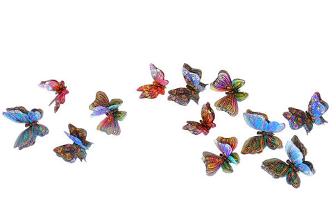 Joy of Coloring's 3D Butterflies Wall Décor