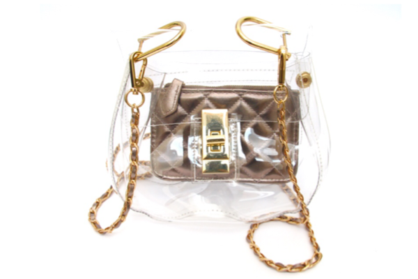 Stadium-Approved Clear Creations Bella Bag