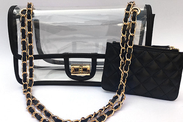 Stadium-Approved Clear Creations Shoulder Bag