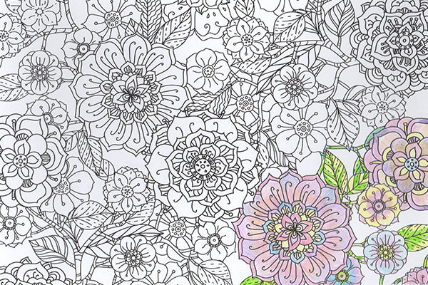 Joy of Coloring's Jumbo Adult Coloring Poster