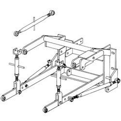 3-Point Hitch Conversion Kit, New, Oliver