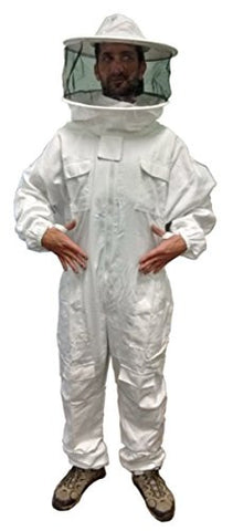 Full size XL poly cotton beekeeper bee suit by Primeonly27