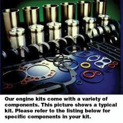 Engine Rebuild Kit, Cummins 6T-830 Diesel, New, Case, White