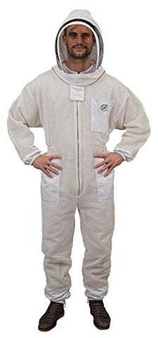 Humble Bee 421-XXL Aerated Beekeeping Suit with Fencing Veil (XX Large)