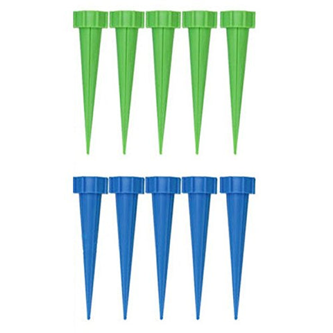 TOOGOO(R) 10Pcs Automatic Garden Cone Watering Spike Plant Flower Waterers Bottle Irrigation