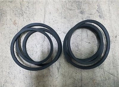 (2) Curtis 5' Finish Mower Belts Model FM 150 Part #542003 USA Made!!!