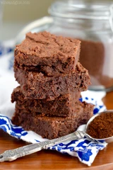 Low Carb - High Protein - Mocha Fudge Brownies with Clean Lean
