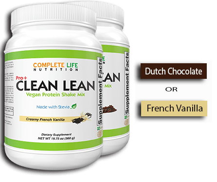 Clean Lean Protein Shake - Complete Life Nutrition - High Quality Doctor Formulated Vitamins and Supplements