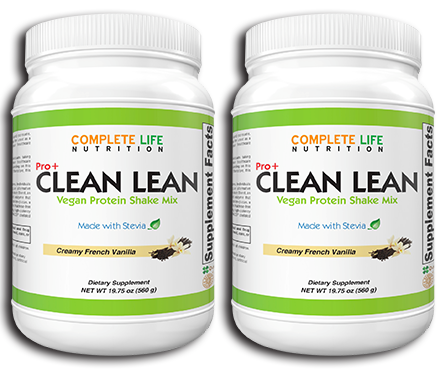 Clean Lean Protein Shake (2 Bundle and Save) - Complete Life Nutrition - High Quality Doctor Formulated Vitamins and Supplements