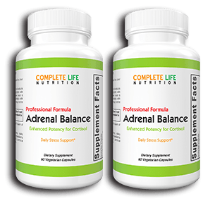 Adrenal Balance (2 Bottles) - Complete Life Nutrition - High Quality Doctor Formulated Vitamins and Supplements