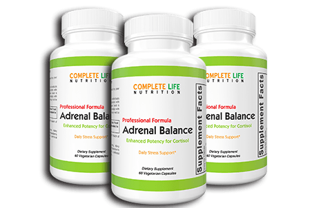 Adrenal Balance (3 Bottles + Bonus + FREE SHIPPING) - Complete Life Nutrition - High Quality Doctor Formulated Vitamins and Supplements