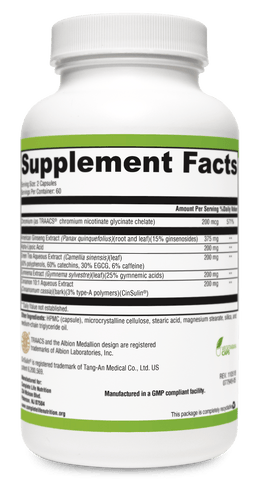 Image of Supplements - Blood Sugar Balancer Metabolism And Sugar Support Supplement