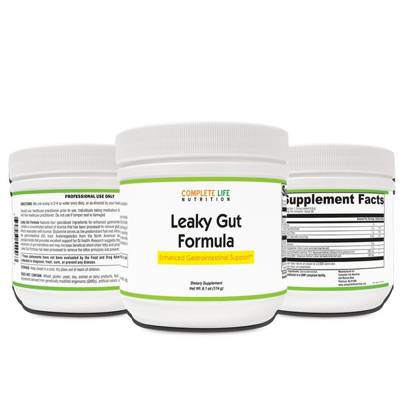 Leaky Gut Repair Supplement- Digestion and Intestinal Support - Complete Life Nutrition - High Quality Doctor Formulated Vitamins and Supplements