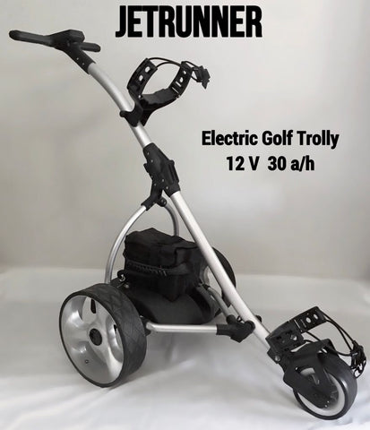 Electric Golf Trolley with 12V 30a/h battery