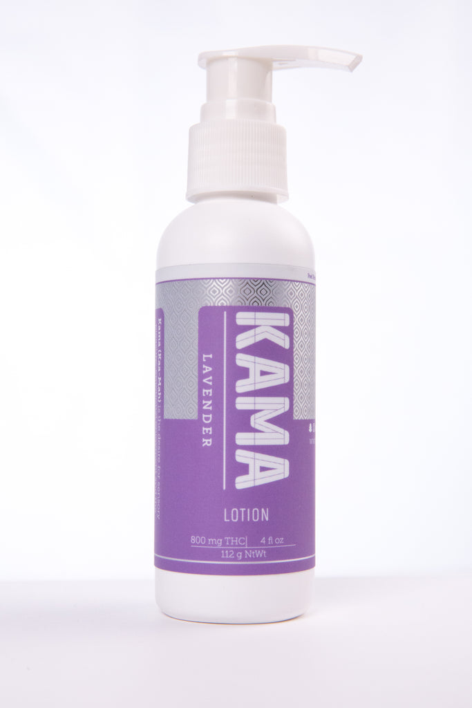 KAMA Lavender Lotion 4 OZ 200MG