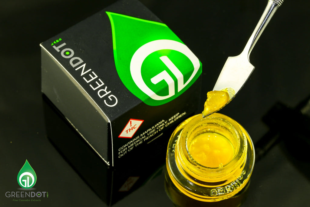 Green Dot - Black Label Sour Diesel Nectar