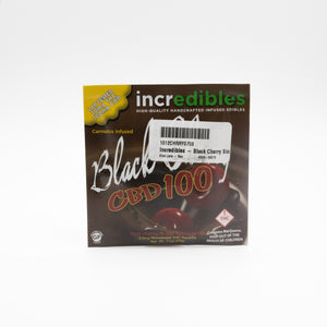 Incredibles - Black Cherry Single - CBD 100mg/10mg
