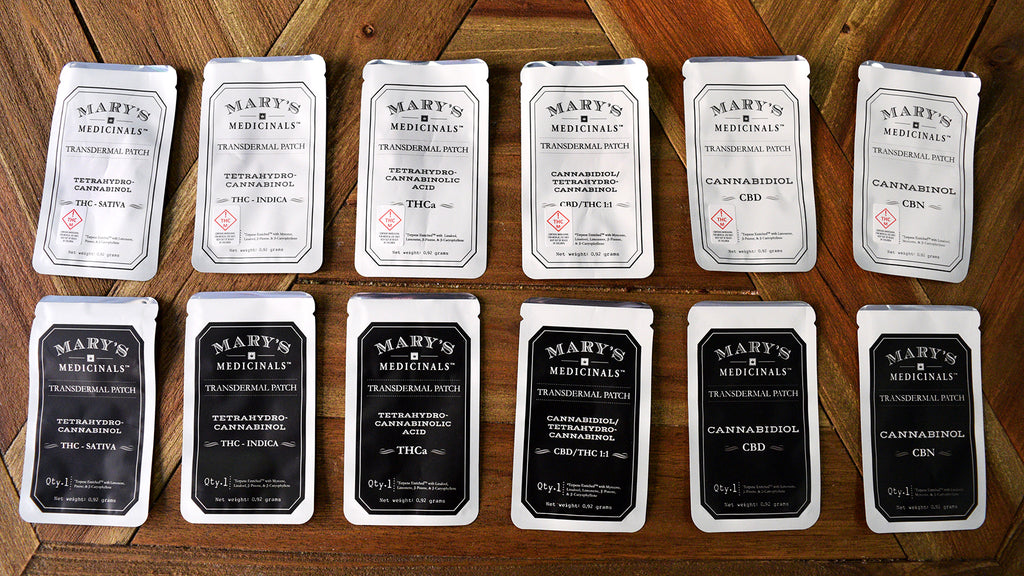 Mary's Medicinals Transdermal Cannabis Patch