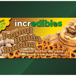 Incredibles Cannabis Chocolates 200MG Peanut Budda Buddha Bar