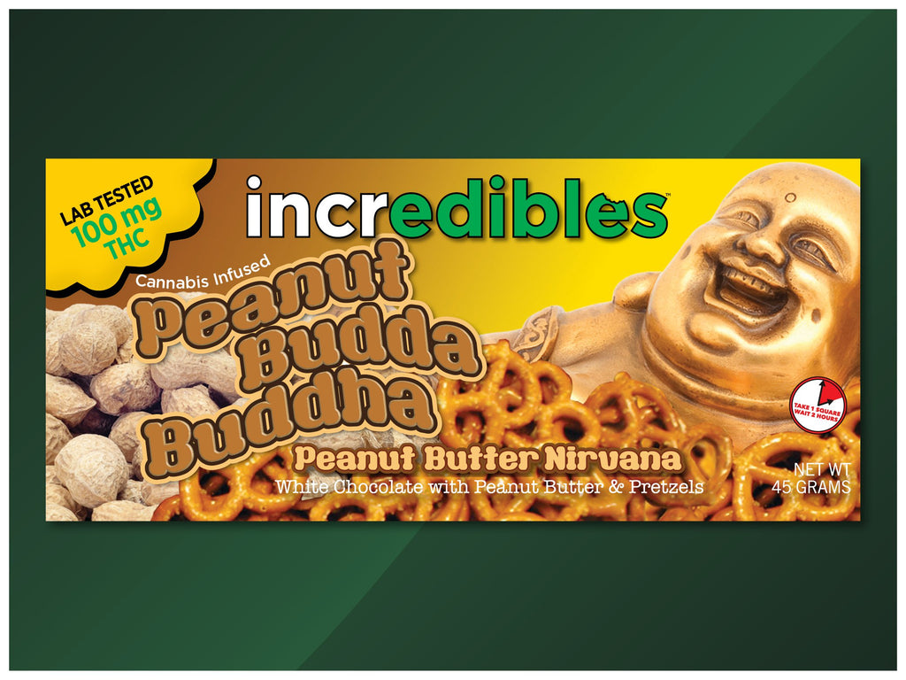 Incredibles - Peanut Budda Buddha - 100mg