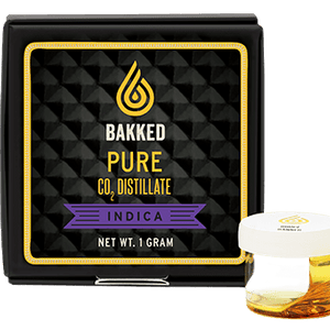 Bakked -Pure CO2 Distillate