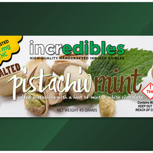 Incredibles - Pistachio Mint - 100mg